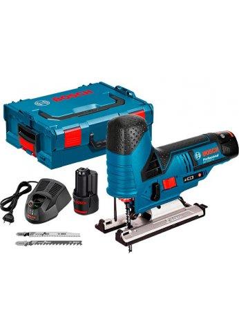Электролобзик Bosch GST 12V-70 Li Professional [06015A1000] (2 АКБ 2,0Ач)