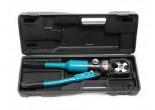 Forsage Инструмент гидравлический обжимной для кабелей 12т(ход штока-18мм, сечение 14-150мм2, адаптеры-14,22,38,60,70,80,100,150мм), в кейсе F-Y150