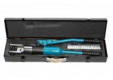Forsage Инструмент гидравлический обжимной для кабелей кабелей13т(ход штока-20мм, сечение 16-240мм2, адаптеры-16,25,35,50,70,95,120,150,185,240мм), в кейсе F-Y240B