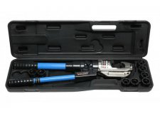 Forsage Инструмент гидравлический обжимной для кабелей12т(ход штока-38мм, сечение 16-400мм2, адаптеры-16,25,35,50,70,95,120,150,185,240,300,400мм), в кейсе F-Y510