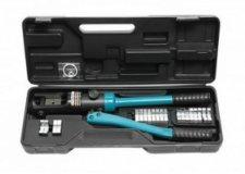 Forsage Инструмент гидравлический обжимной для кабелей13т(ход штока-18мм, сечение 10-300мм2, адаптеры-16,25,35,50,70,95,120,150,185,240,300мм), в кейсе F-Y300A
