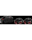 Аккумулятор 2шт (оригинал) GBA 18 В 2x5,0Ah с зарядным устройством GAL 1880 CV BOSCH 1600A00B8J