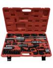 Forsage Комплект для снятия дизельных форсунок с обратными молотками, головками и резьбовыми адаптерами (головки для форсунок: 25, 27, 28, 29, 30мм), в кейсе F-04A3001