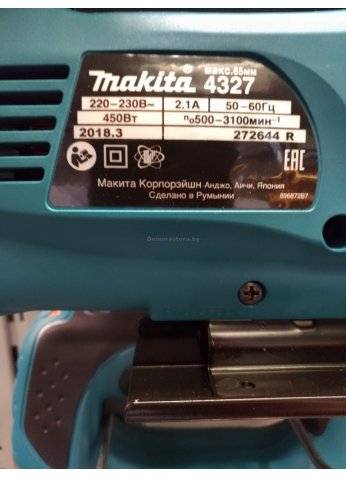 Электролобзик Makita 4327 (РУМЫНИЯ)