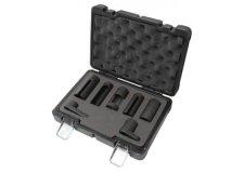 Forsage Набор головок для форсунок и датчиков 7пр. (22, 27, 29мм), в кейсе Premium F-907G2D