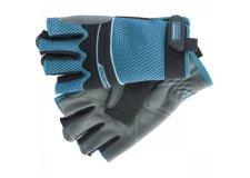 Перчатки комбинированные облегченные, открытые пальцы, AKTIV, XL// Gross 90317