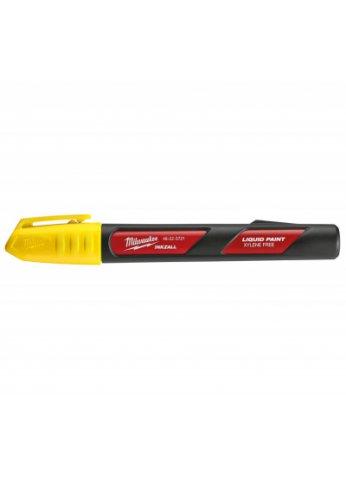 Маркер на основе жидкой краски MILWAUKEE INKZALL Желтый 48223721