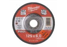Диск шлифовальный по металлу 125мм/6мм MILWAUKEE SG 27/125 4932451502