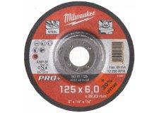 Диск шлифовальный по металлу 180мм/6мм MILWAUKEE SG 27/180 4932451503