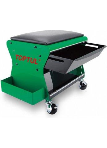 Сиденье автослесаря подкатное TOPTUL (JCA-350B)