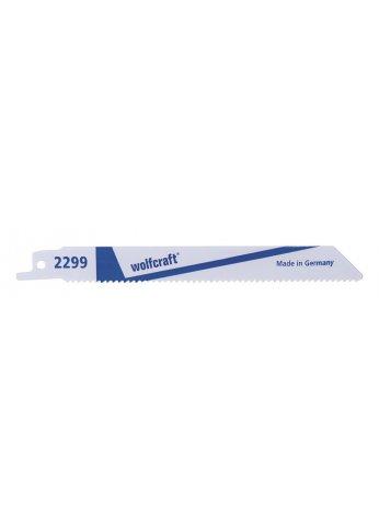 Комплект пилок для сабельной ножовки 2шт 130 мм HSS Wolfcraft 2299000