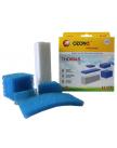 Набор фильтров для пылесоса OZONE H-07 (НЕРА-фильтр-1 шт., микрофильтр-4 шт.) (Для пылесоса THOMAS TWIN)