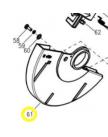кожух подвижный MS2112LO WORTEX J1G-ZP9-210-061