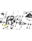 кожух неподвижный MS2520 WORTEX J1G-ZP27-255-40