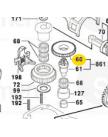 шестерня цилиндрическая GBH4-32DFR BOSCH 1616317076