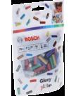 Клеевые стержни для Gluey 7x20 мм 70 шт. цветные с блестками BOSCH (2608002006)