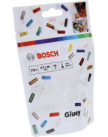 Клеевые стержни для Gluey 7x20 мм 70 шт. прозрачные, BOSCH 2608002004