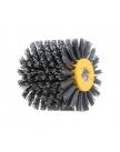 Щетка с нейлоновой щетиной 100х120 мм P80 WORTEX (диаметр 120 мм, ширина 100 мм, посадочный диаметр 19 мм, зерн. 80)