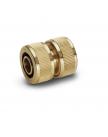 Муфта латунная для соединения шлангов 3/4 Karcher 2.645-103.0