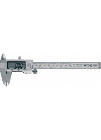 Штангенциркуль электронный 150мм/0,02мм YATO YT-7201