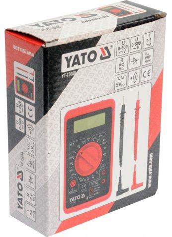 Универсальный цифровой измеритель YATO YT-73080