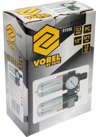 Набор фильтр-редуктор-смазочный прибор VOREL 81556