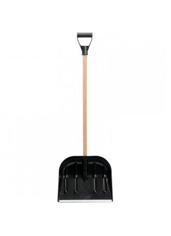 Лопата снегоуборочная пластм. с черенком VOREL 35881