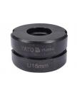 Обжимочная головка тип U 16мм для YT-21735 YT-21740