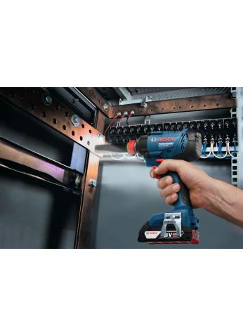 Набор инструмента перфоратор Bosch GBH 180-LI гайковерт GDX 180 LI Professional 06019G5221 (с 2-мя АКБ, кейс)