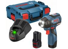 Ударный винтоверт Bosch GDR 12V-110 Professional 06019E0005 (с 2-мя АКБ, кейс) ВЕНГРИЯ