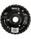 Диск-фреза универсальный для УШМ 125мм #1 YT-59174 Yato