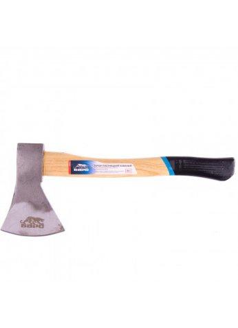 Топор плотницкий,кованый,деревянная рукоятка,800гр.,пескоструйное покрытие полотна// Барс 21654