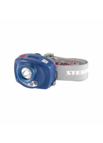 Фонарь налобный Extreme, ABS, 3 реж, ИК сенсор, CREE XP-E LED 3 Вт 120 лм, 2 red, 8 ч, 3хААА// Stern 90566