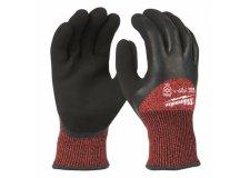 Перчатки рабочие зимние с защитой от порезов уровень 3 MILWAUKEE 9/L 4932471348