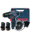 Дрель-шуруповерт Bosch GSR 120-LI Professional 06019G8000 (2 АКБ, кейс)