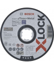 Отрезной круг X-LOCK 125x1x22.23мм Expert for Inox + Metal, BOSCH 2608619264