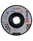 Отрезной круг X-LOCK 125x1.6x22.23мм Expert for Metal, BOSCH 2608619254