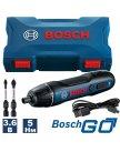 Электроотвертка Bosch Go 2 Professional 06019H2100 (с кейсом)