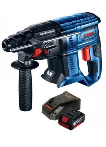 Перфоратор Bosch GBH 180-LI Professional 0615990L6J (с одним АКБ и ЗУ)