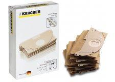 Бумажные фильтр-мешки (оригинал) 5шт Karcher для MV 2 WD 2 (6.904-322.0) ГЕРМАНИЯ