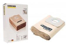 Бумажные фильтр-мешки Karcher (оригинал) для WD 3 MV 3 SE 4001 SE 4002 (6.959-130.0) (ГЕРМАНИЯ)