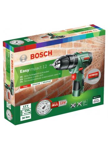 Дрель-шуруповерт Bosch EasyImpact 12 Basic [060398390N] ВЕНГРИЯ