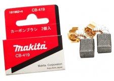 Угольные щетки (оригинал) HP1640 HP1641F 4350 4351FCT CT BO5030 BO5031 HR2450 HR2432 6408 FS6300 CB-419 Makita (191962-4)