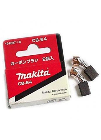 Угольные щетки 2шт (оригинал) 6413 4326 4327 4329 BO3710 BO3711 JV0600K BO5041 BO5040 3706 M4301 CB-64 Makita (191627-8)