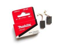 Угольные щетки 2шт (оригинал) CB-325 Makita для 9557HN 9565HZ HR2470 9558HN 2611F-FT 2811FT BO6050J GA6040R GD0600 HR2630 (194074-2)