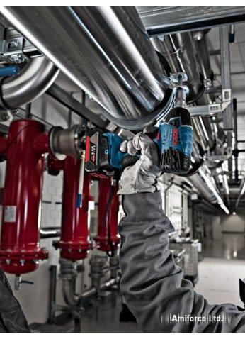Ударный гайковерт Bosch GDS 18 V-LI Professional [06019A1S0C]