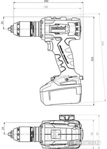 Дрель-шуруповерт Metabo BS 18 LTX BL I