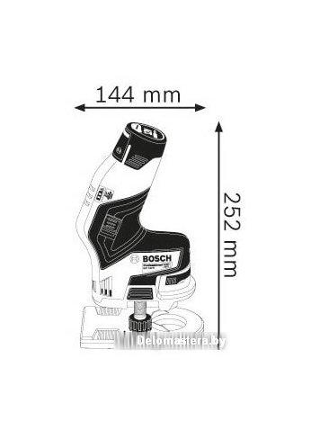 Кромочно-петельный фрезер Bosch GKF 12V-8 Professional 06016B0002 (без АКБ и ЗУ)