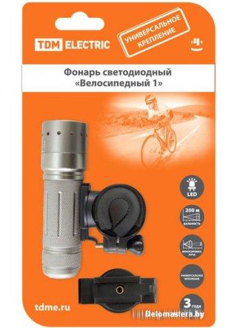 Фонарь TDM Electric Велосипедный 1