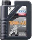 Моторное масло Liqui Moly Motorbike 4T Offroad 10W-40 1л